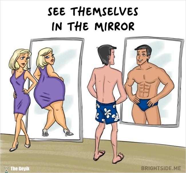 erkekler ve kadınlar arasındaki farklar