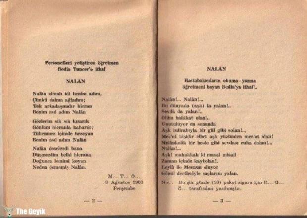 Akıl Hastalarının Yazdıkları Şiirler 3
