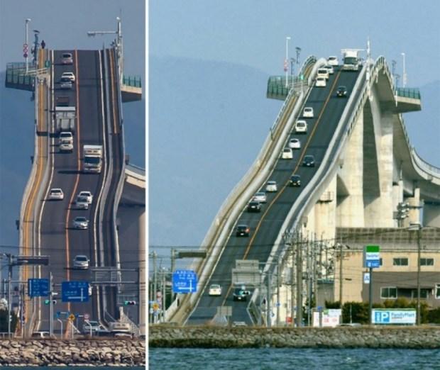 Eshima Ohashi Köprüsü Japonya