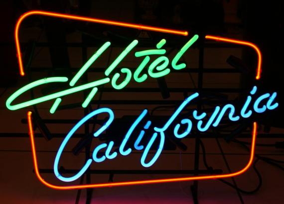 hotel california hikaye
