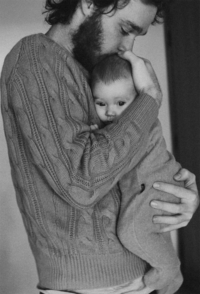 Baba çocuk fotoğraf
