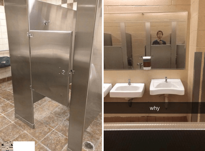 İlginç komik banyo ve tuvaletler 7