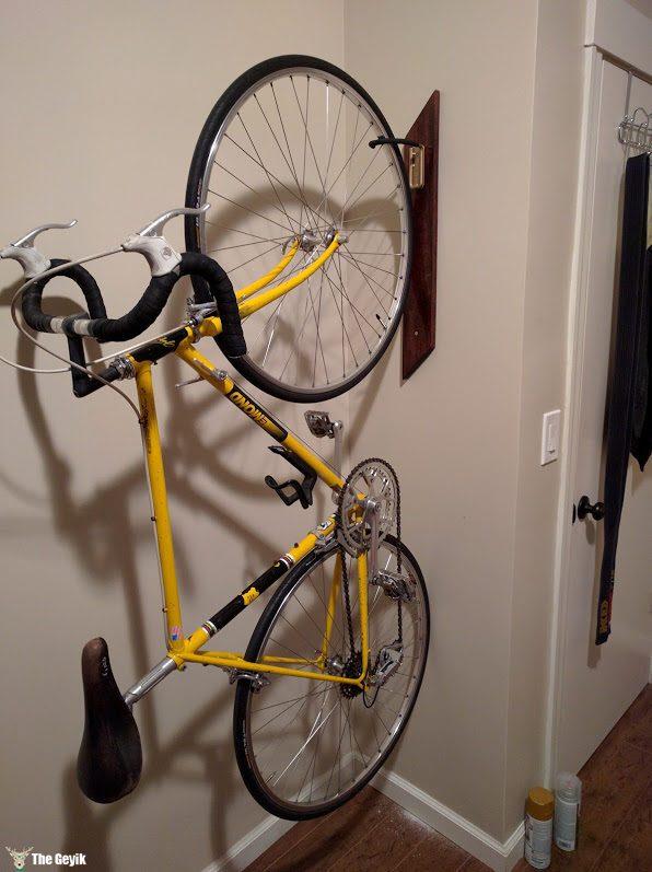 Evde bisiklet tutamacı - bisikletlik 6