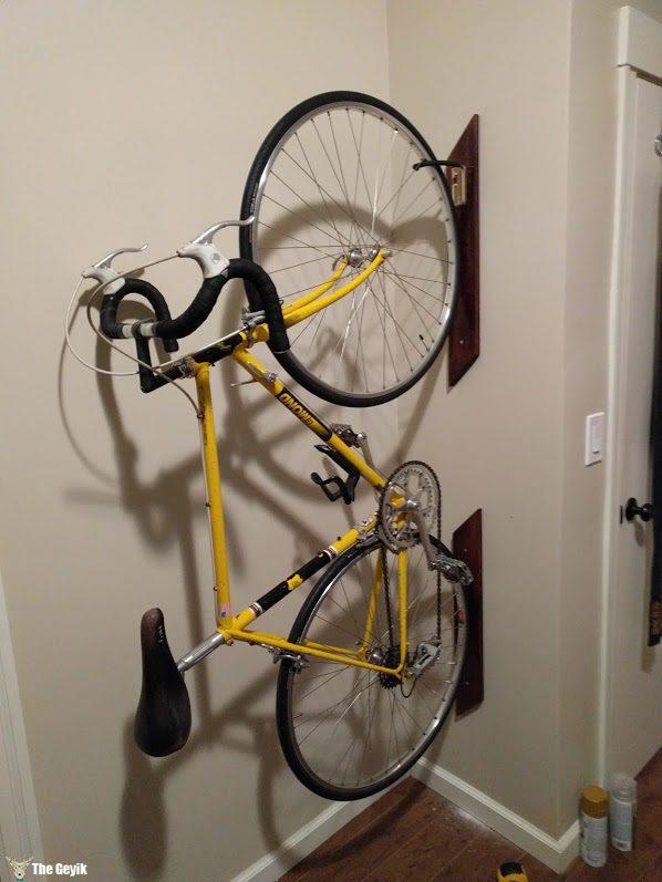 Evde bisiklet tutamacı - bisikletlik 8