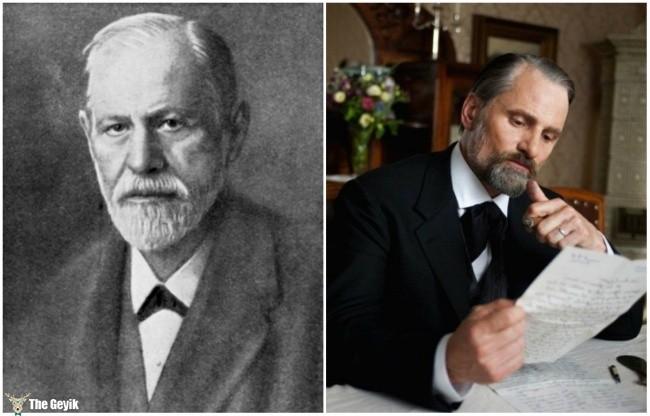 Sigmund Freud and Viggo Mortensen