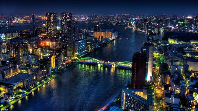 Tokyo, Japonya'nın başkenti ve dünyanın en büyük kentidir.