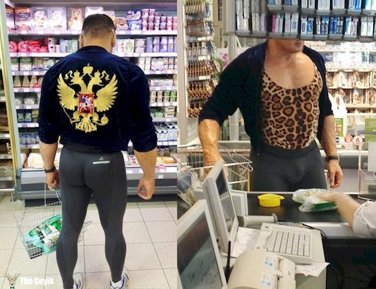 Rusyada görebileceğiniz ilginç olaylar 13
