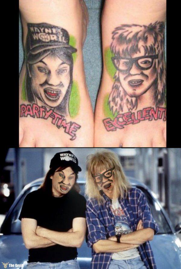 dövmeler gerçek hayatta olsaydı 3