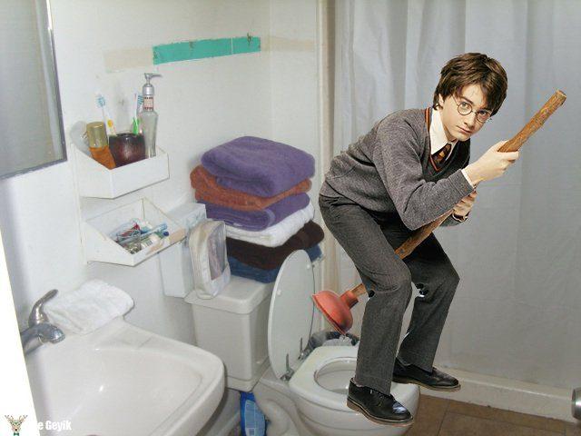 Harry Potter trolleme photoshop2