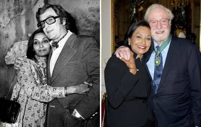 #1 Michael Caine And Shakira Baksh - 43 Years Together