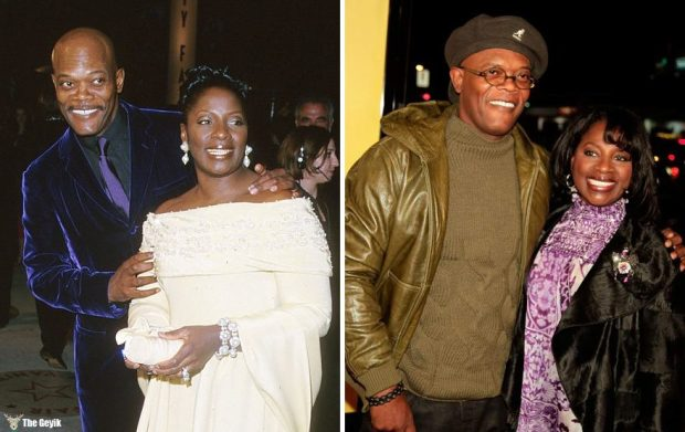 #5 Samuel L. Jackson And Latanya Richardson - 36 Years Together