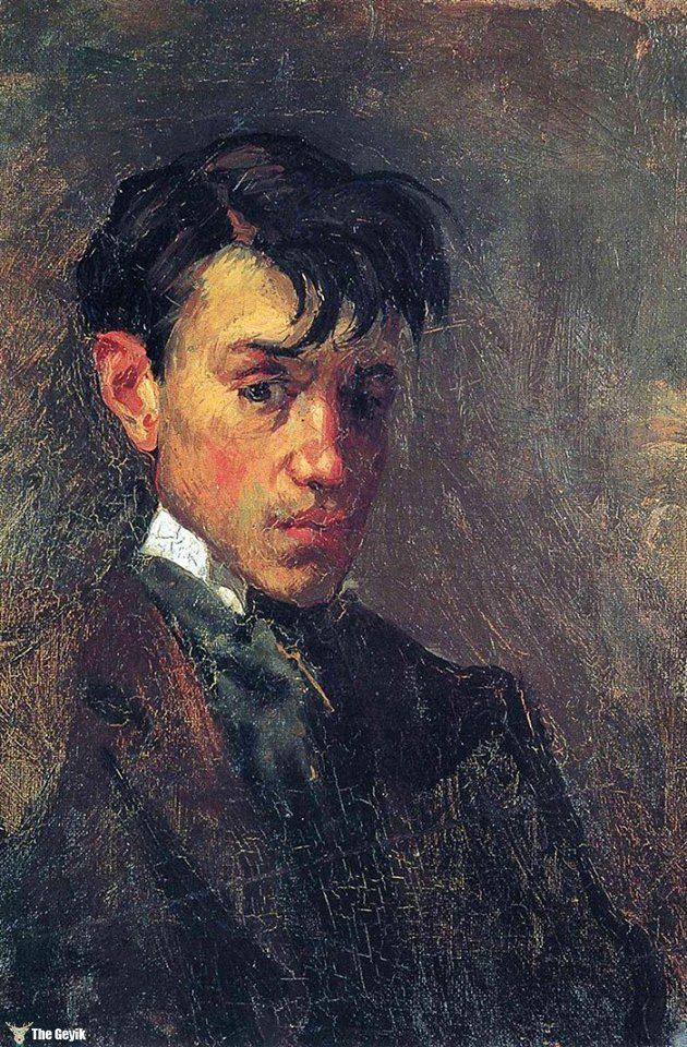 Picasso'nun kendini cizdigi resimler 15