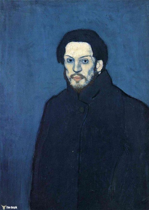Picasso'nun kendini cizdigi resimler 21
