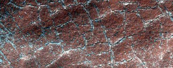 Irregular Basin Floor Materials