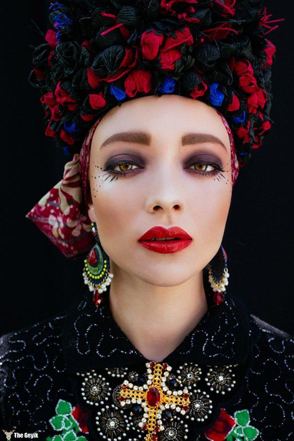 polonyalı sanatcı slav kültürel elbiseler 9
