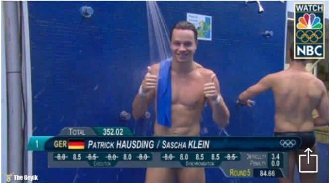 rio olimpiyatlarından komik mayo resimleri 1