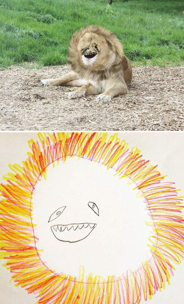 oglunun-cizdigi-hayvan-resimlerini-gercege-uyarlayan-babadan-komedi-resitali4
