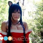 dannabo ahri league of legends cosplay