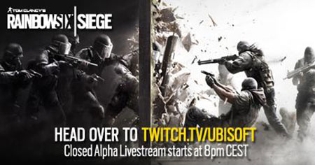 Ubisoft will stream Rainbow Six Siege via Twitch today - TGG
