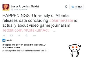 gamergate is about video game journalism