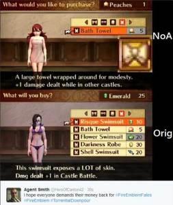 fire emblem fates censorship