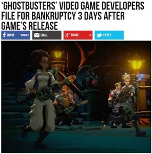 bye bye ghostbusters 2016 the game