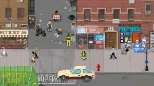 beat cop murder scene