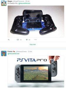 nintendo switch psvita joke
