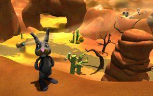 woven desert rabbit