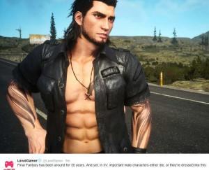 lewd gamer on final fantasy xv