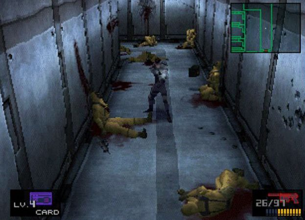Here s the games that Sony should include for the PS1 mini   TGG metal gear solid ps1