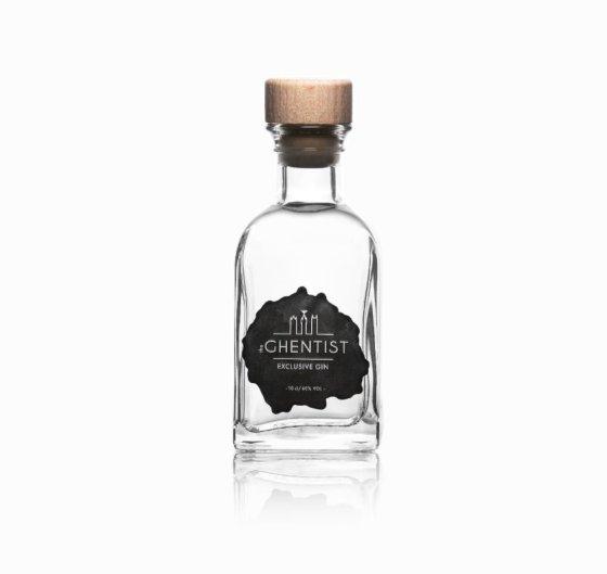 The Ghentist ginfles met zwart-wit logo
