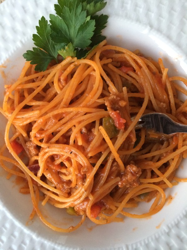 Favorite Recipes: One-Pot Spaghetti