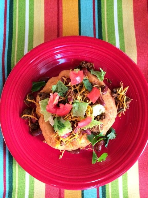 Indian Fry Bread Tacos - The Gifted Gabber
