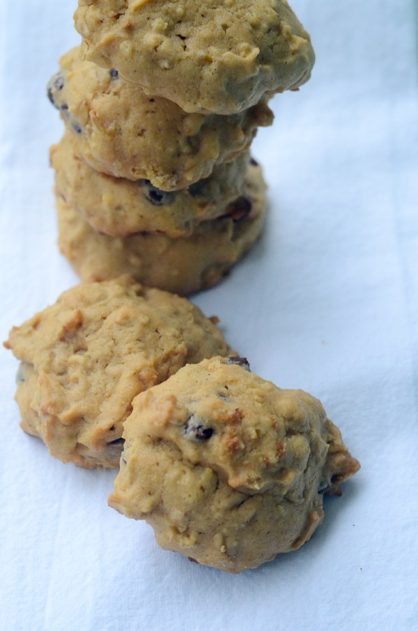 Chocolate Chip Pumpkin Oatmeal Cookies - fall desserts - fall cookies - The Gifted Gabber