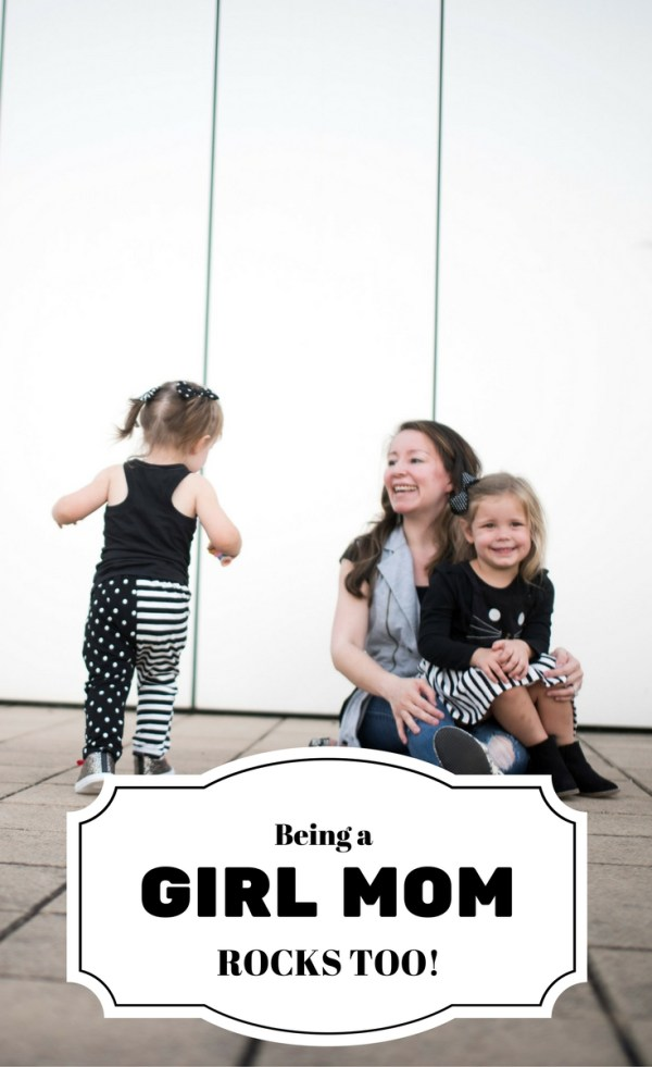Being a Girl Mom Rocks Too! - Motherhood - Mom Life - Parenting - Mom of Girls - Toddlers - Preschoolers - Little Girl Fashion - Little Girl Style - Mom Style - The Gifted Gabber