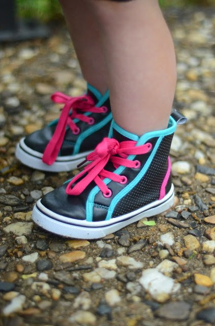 Tomboy Chic Style - Little Girl Style - The Gifted Gabber - Little Girl Hi Tops
