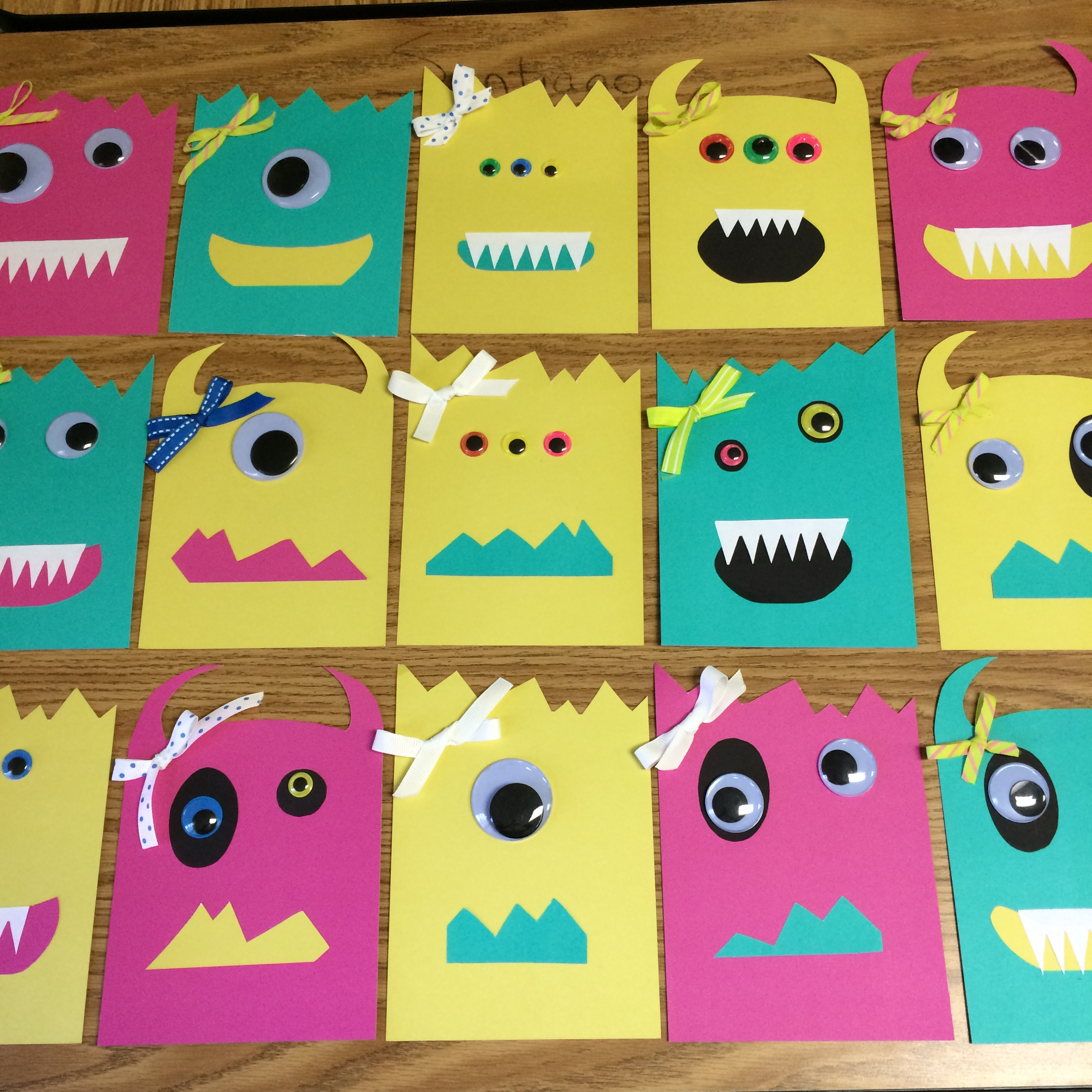 little monsters birthday party invitations