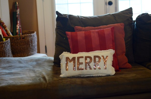 colorful Christmas home tour - The Gifted Gabber
