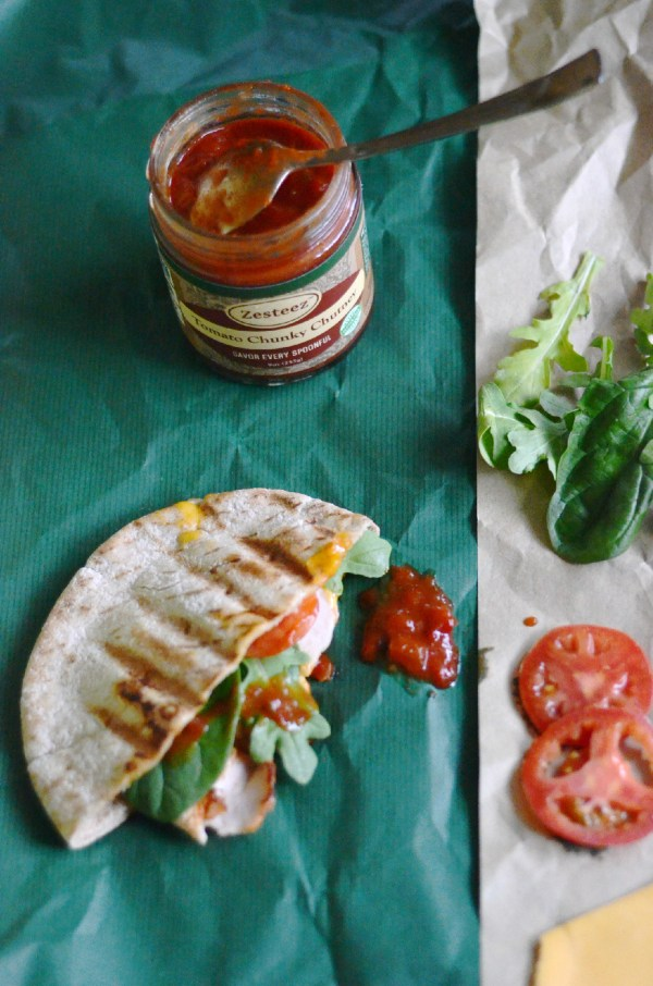 Grilled sandwiches with tomato chutney - The Gifted Gabber