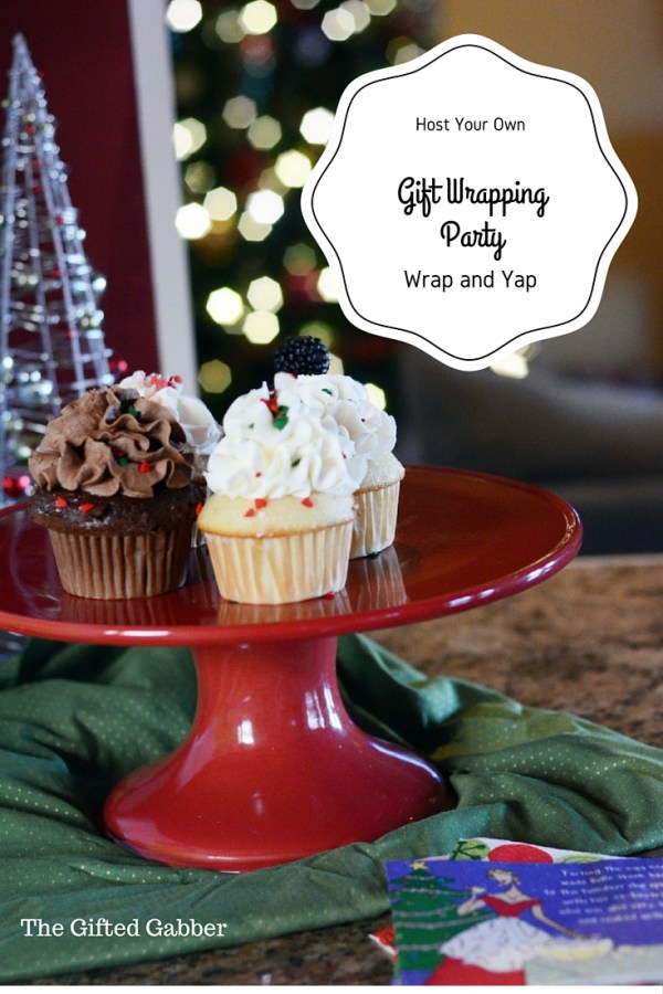 Tips for hosting a gift wrapping party. Have fun with your friends AND get those gifts wrapped! Christmas Gift Wrapping Party - Tips for Hosting a Holiday Gift Wrapping Party - Wrapping Gifts Party - Christmas Wrapping - Wrapping Paper Party - Christmas Party Ideas - Holiday Party Ideas - The Gifted Gabber