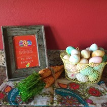Easter Vignettes and Free Printables