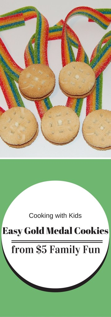 Easy Gold Medal Cookies - Cooking with Kids - The Gifted Gabber