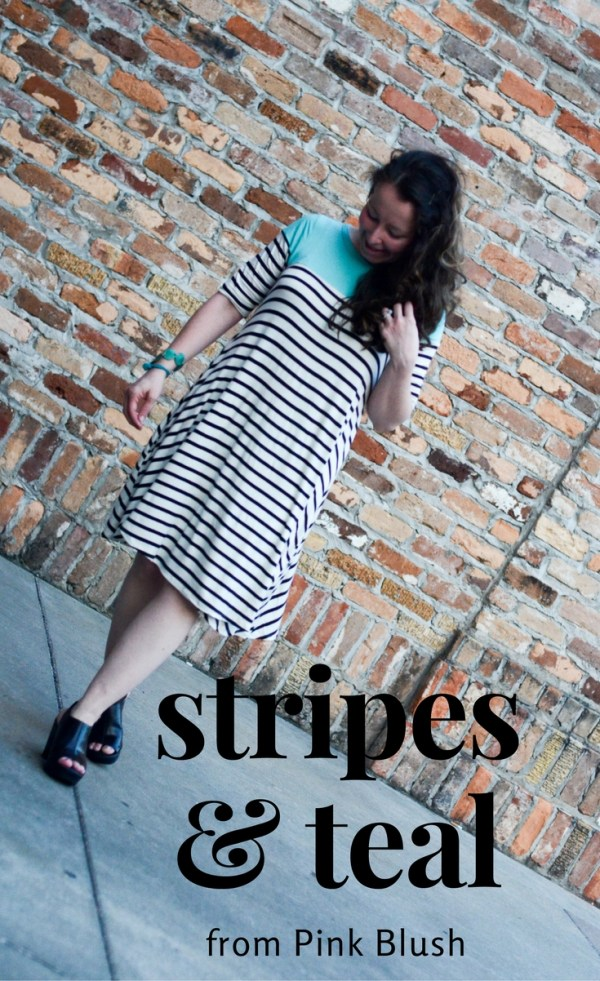 A review of this uber comfortable dress from Pink Blush which I wore during our trip to Branson. - Branson, Missouri - Striped dress - Teal Dress - Stripes and Teal - Summer Dresses - Maternity Dresses - Post Maternity Outfit Ideas - Mommy Style - Mommy Fashion - Weekend Style - Work Style - Women's Fashion - Women's Style - Summer Style - Visit Branson - #sponsored - The Gifted Gabber