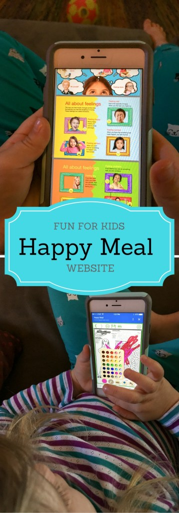 Happy Meal Website Fun for Kids - http://thegiftedgabber.com/happy-meal-website-fun-for-kids/