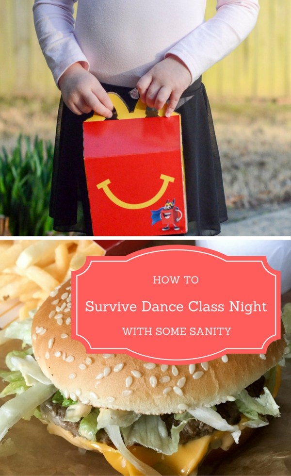 How to Survive Dance Class Night - Easing the Frenzy of Busy Nights | Dinner on busy nights | Tiny Dancer | - The Gifted Gabber