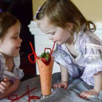 Sweetheart Surprise Smoothie - Cooking with Kids - The Gifted Gabber | Mini Chefs | Toddler Fun |