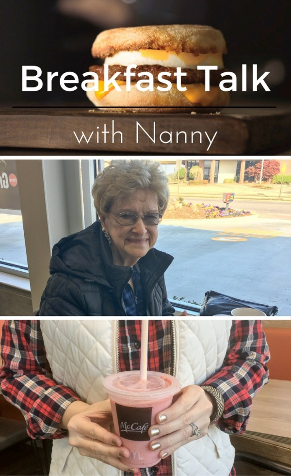 Breakfast Talk with Nanny - Grandmothers - Family Time - The Gifted Gabber
