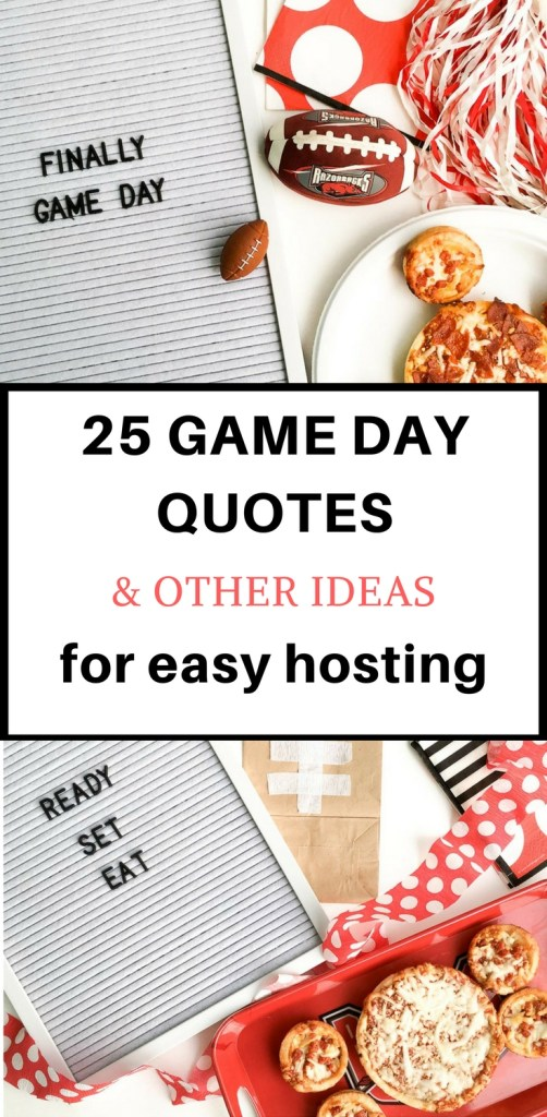 Game Day Letter Board Quotes And Other Party Ideas Adorable Game Day Quotes
