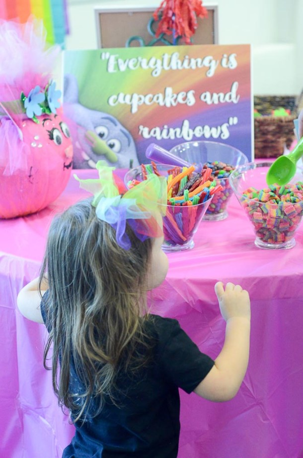 Trolls Birthday Party It S All Cupcakes And Rainbows
